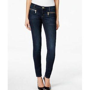 Michael Kors Skinny Jeans with zipper pockets